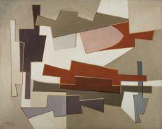 Alberto Magnelli: Lumiere diffuse, 1950