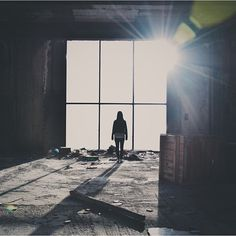 'Light my fear'.  Photo by @chryssaxe from Greece, taken in the abandoned Hellinikon Airport in Athens.
