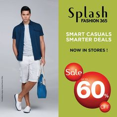 #Sale #SpringSummer #Fashion #Casuals #SplashIndia