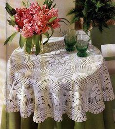 Crochê da Mag: Toalha de mesa