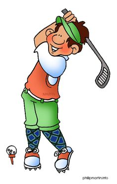 Funny Golf Clip Art Free | is golfball clip art funny golfer posing free shipping included in ...