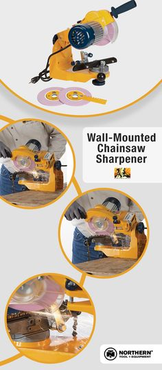 Our most popular wall-mounted chainsaw sharpener voted by our customers!