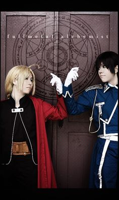 Some Fullmetal Alchemist: Brotherhood cosplay (by ~ki-ri-ka on deviantART)