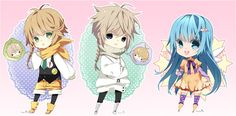 Chibi commission batch04 by inma.deviantart.com on @deviantART