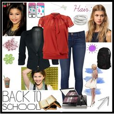 """""""Mondays School Outfit for me!"""" by cecebellrock ❤ liked on Polyvore"""