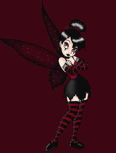 Goth Tink 2 by ~Chris10 on deviantART