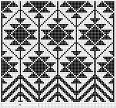Billedresultat for mochila bag crochet pattern free Mochila Crochet, Bag Crochet, Crochet Purses, Crochet Chart, Tapestry Crochet Patterns, Bead Loom Patterns, Cross Stitch Patterns, Knitting Charts, Knitting Patterns
