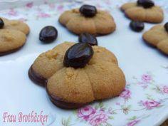 Frau Brotbäcker: Mokka-Kekse