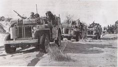 Heavily armed and specially modified jeep of British L Detachment SAS, North Africa, early 1943, photo 5 of 5