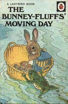 Buy THE BUNNEY FLUFFS MOVING DAY a Ladybird Book from the Animal Rhymes Series 401 Matt Hardback 1981 A humerous story told in verse