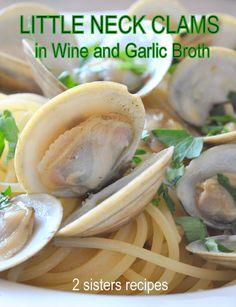 Clam Recipes, Seafood Recipes, Cooking Recipes, Shellfish Recipes, Clam Pasta, Seafood Pasta, Best Italian Recipes, Asian Recipes, Favorite Recipes