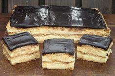 Prajitura Amor Amor, cu biscuiti si budinca - gata in 15 minute Food Cakes, Cupcake Cakes, Sweet Desserts, Delicious Desserts, Baking Recipes, Cake Recipes, Cheesecake, Banoffee Pie, Sweet Bar
