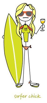 Surfer Chick > Sauvignon Blanc
