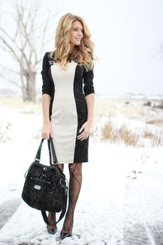Shannon Bird of birdalamode.com with her Petunia Pickle Bottom Halifax Hobo diaper bag from the Cake Collection.