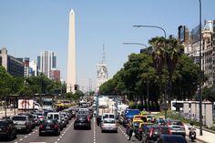Av. 9 de Julio. Buenos Aires, Argentina.