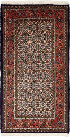 """Moud Salmon Allover Carpet CS-M8928137 X 74 Cm. (4'5"""" X 2'4"""" Ft.) - Carpetsanta"""