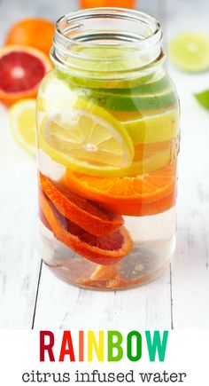Refreshing citrus infused water is a great drink to sip on throughout the day!