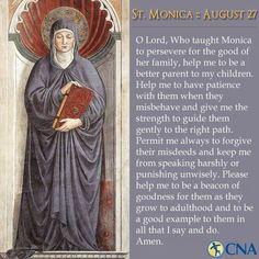 Prayer to St. Monica