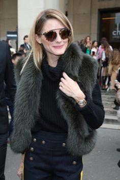 Los looks de la semana de Olivia Palermo que aún no hemos visto en el desfile de Elie Saab y de Giambattista Valli