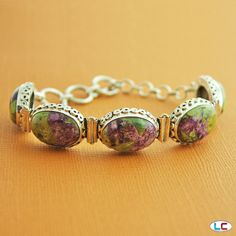 Stichtite Bracelet in Sterling Silver (Nickel Free) | Liquidation Channel