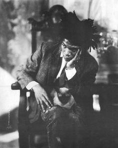 Jean-Michel Basquiat my favorite picture of him. <3