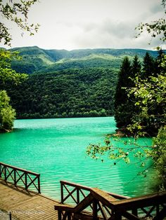 Lago di barcis northern Italy
