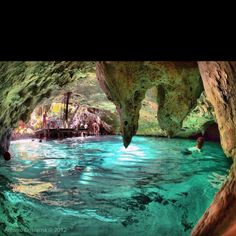 Gran Cenote, Tulum, Mexico. 28 days til our Honeymoon!!!