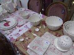 Déco de table / Jardins d'Ulysse #jardindulysse #deco #table #home #rose #mo14