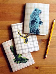 https://www.etsy.com/listing/188206681/spirit-animal-pocket-note-book-set