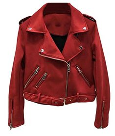 YUNY Women Trench Coat Notch Lapel Fitness Oversized Pu Leather Jacket Blackish Green 3XL
