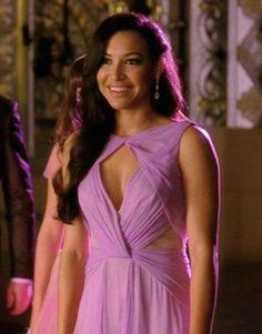 Santana Lopez glee Naya Rivera