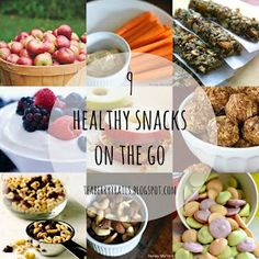 9 Healthy Snacks on the Go.