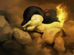 Cyndaquil - realistic Pokemon