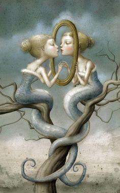 Liquidnight, Nicoletta Ceccoli