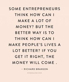 Quotes about leadership and how to be a better entrepreneur : QUOTATION – Image : Quotes Of the day – Description Richard Branson Discusses How Failure Is Essential to Success Inspiration Entrepreneur, Business Inspiration, Entrepreneur Quotes, Business Ideas, Quotes About Entrepreneurship, Business Entrepreneur, Business Planning, Entrepreneur Motivation, Life Inspiration