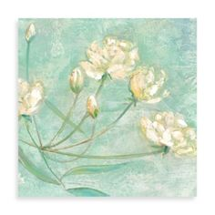 """Buy Elinor Luna """"Blossoms in Blue I"""" Canvas Print from Bed Bath & Beyond"""