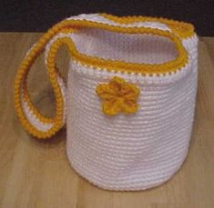 Flower Tote Free Crochet Pattern