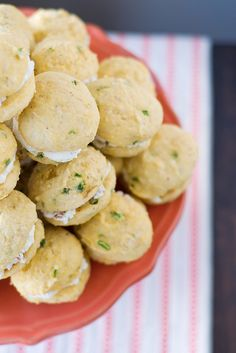 Jalapeño Cornbread Whoopie Pies with Goat Cheese and Bacon Filling by Courtney | Cook Like a Champion, via Flickr