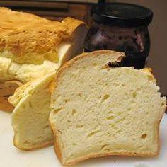 Pain blanc sans gluten à la machine à pain