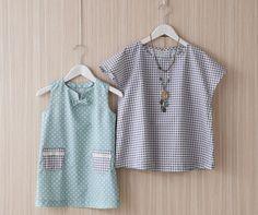 Uma peça e meninas blusa de simples costura verão