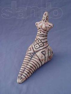 (Cucuteni Trypillian Culture) Trypillian Goddess Mother