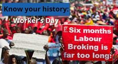 On May 1 we celebrate Workers' Day. But do you know how this day came about? Workers Day, Human Rights, Did You Know, Knowing You, History, Watch, Celebrities, Historia, Clock