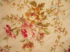 french rose fabric