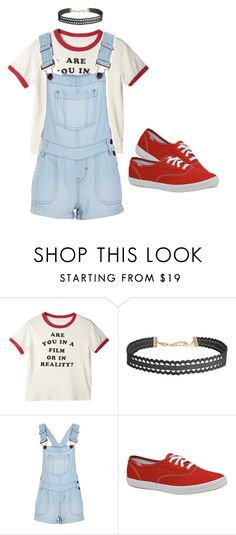 """""""Chained 31"""" by ashyrosepetal on Polyvore featuring Humble Chic, New Look and Keds"""