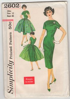 Simplicity patterns... mom still has hundreds of these in her shop