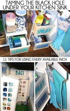 under kitchen sink organizer cleaning cabinets 103 best organization images in 2019 11 tips for organizing the tame black hole and use every
