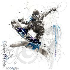 ©Spencer Obrien, snowboarder by ruth Joyce.www.theartisticblog.com