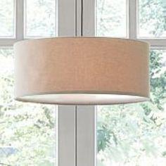 cheap drum pendant lighting. Short Drum Pendant - Natural Linen High X Wide West Elm In LA\u2026 Cheap Lighting I