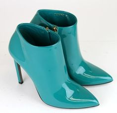 "Gucci ""gloria"" Patent Leather Turquoise Boots. Get the must-have boots of this season! These Gucci ""gloria"" Patent Leather Turquoise Boots are a top 10 member favorite on Tradesy. Save on yours before they're sold out!"
