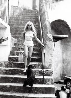 Brigitte Bardot in St. Tropez, 1958